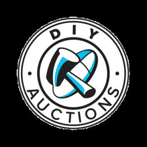 DIY auction logo